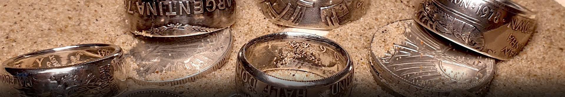 pierścienie z monet - banner