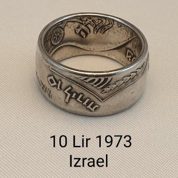 pierścień zmonety